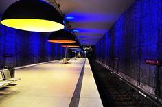 Munich metro station