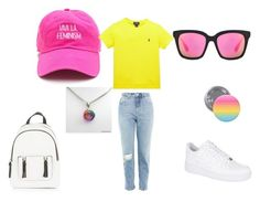 """pan pride"" by chaimae-megherbi on Polyvore featuring mode, Topshop, Ralph Lauren, NIKE et New Look"