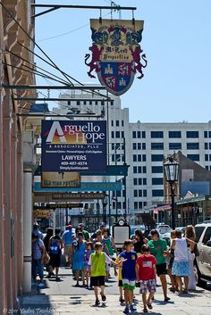 """One of the most popular of Galveston's landmark districts is The Strand National Historic Landmark District, formerly known as the """"Wall Street of the Southwest"""" and now home to a host of shops, antique stores, restaurants and art galleries."""