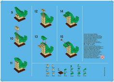 Lego Jan. 2012 Monthly Mini Model Build COBRA Instructions by LegoDad42, via Flickr