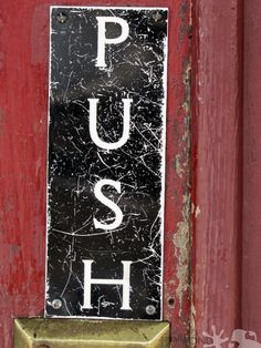 Door in Downtown #Starkville >> Do you know where this door leads?