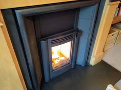 Contura i4 classic installed into standard British fireplace