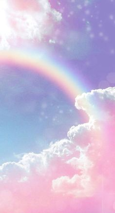 Aesthetic Wallpaper Pastel Clouds Ideas For 2019 Wallpaper Pastel, Iphone Wallpaper Glitter, Cloud Wallpaper, Rainbow Wallpaper, Aesthetic Pastel Wallpaper, Kawaii Wallpaper, Cute Wallpaper Backgrounds, Pretty Wallpapers, Galaxy Wallpaper