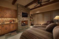 Southwest Contemporary - mediterranean - bedroom - phoenix - Design Directives, LLC