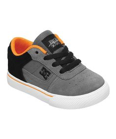When it's time to hit the blacktop for a game of hoops or a flat-out foot race to the ice cream truck, make sure little ones are ready with these stylin' sneakers. A sticky rubber sole ensures steps stay steady, while a padded tongue and heel collar promise comfort.Suede upperRubber outsoleImported