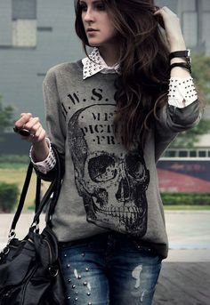 edgy - Click image to find more Women's Fashion Pinterest pins