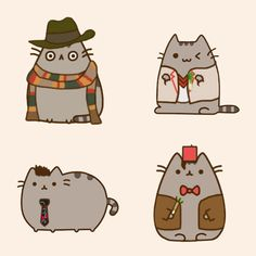 12 Pusheen Cats As Characters And Celebs - http://dietandweightloss.tips4all.eu/12-pusheen-cats-as-characters-and-celebs/