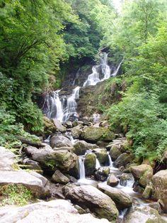 Turoc Waterfall in Kilarney, Ireland