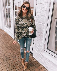 Date outfit fall, casual fall outfits, day date outfits, date Date Outfit Fall, Day Date Outfits, Date Outfit Casual, Casual Fall Outfits, Winter Outfits, Cute Outfits, Summer Outfits, Club Outfits For Women, Camo Sweatshirt