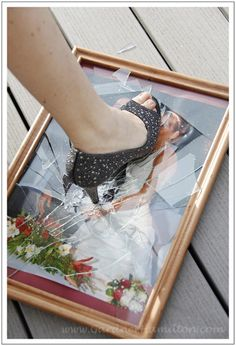 Inspiration for my trash the dress shoot!
