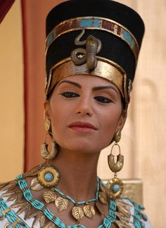 Beautiful... Egyptian beauty: Nefertiti, as portrayed in the Channel 4 programme Nefertiti and the Lost Dynasty