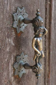 Not your typical door handle in Venice, Italy, by Esther Moved to Ipernity (... | Flickr - Photo Sharing!