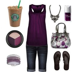 Cute Dressed up, yet casual summer look, created by chelseawate on Polyvore