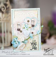 Card by Evgenia Petzer featuring Ingvild Bolme products