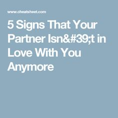 love signs psychology unrequited