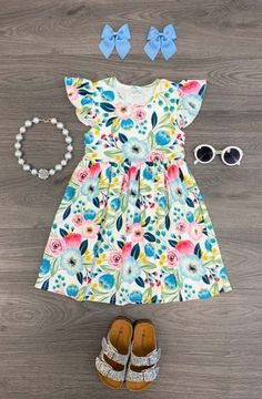 Baby kids fashion bebe 48 new Ideas Girls Summer Outfits, Little Girl Outfits, Cute Outfits For Kids, Toddler Girl Outfits, Little Girl Fashion, Girls Dresses, Trendy Baby Clothes, Baby Kids Clothes, Summer Clothes