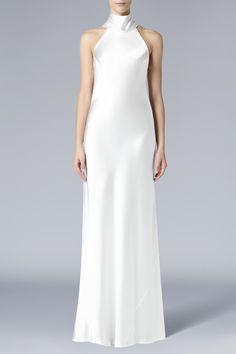222a617fe75 Sash Neck Bias Cut Bridal Dress. From the #GalvanLondon Bridal collection.  Meghan Markle. Galvan London