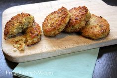 New favorite! LOVE these Quinoa Patties! Cook them in Coconut Oil for extra yummy flavor.