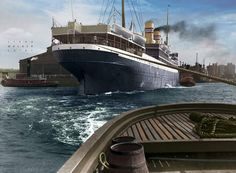 SS Bergensfjord, 1913.