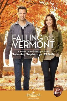 Its a Wonderful Movie - Your Guide to Family and Christmas Movies on TV: Falling for Vermont - a Hallmark Channel Fall Harvest Movie starring Julie Gonzalo and Benjamin Ayres! Hallmark Channel, Películas Hallmark, Films Hallmark, Family Christmas Movies, Hallmark Christmas Movies, Family Movies, Christmas Christmas, Holiday Movies, Halloween Movies