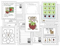 The Little Mouse, the Red Ripe Strawberry and the Big Hungry Bear activities. One of my favorite books!