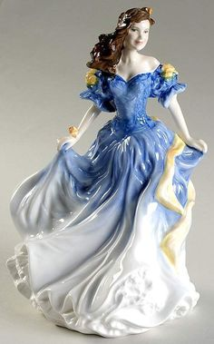 Royal Doulton LADIES FIGURINE OF THE YEAR 1998 Rebecca