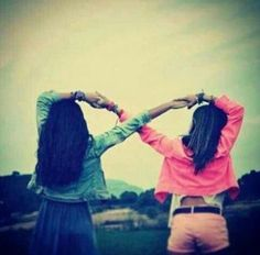 best friends, this I'm going to try this out with my best friend and take a picture of it ♡