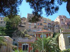 Cagliari - Sardegna - Italy - View of the historical center.