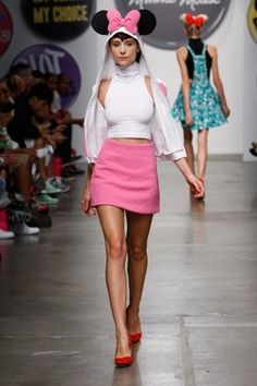 Minnie Mouse inspired fashion hits the runways of London Fashion Week
