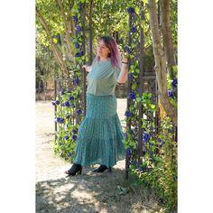 Aqua Maxi Skirt or Strapless Dress Boho Midi Dress, Hair Beads, 2 Way, Strapless Dress, Aqua, Tulle, Skirts, How To Wear, Dresses