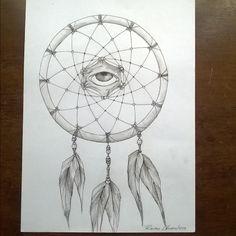 """""""Apanhador de sonhos"""" - #art #arte #ilustração #illustration #desenho #dessin…"""