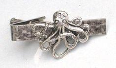 Octopus Tie Clip.
