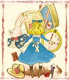 Nice Alice in Wonderland piece.
