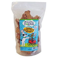Healthy Dogma Peanut Butter Barkers Dog Biscuits 16oz Bag *** Find out more about the great product at the image link. (This is an affiliate link and I receive a commission for the sales)
