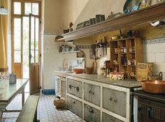 vieille cuisine