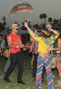 Kellan Lutz   Celebrities At Coachella, Week One
