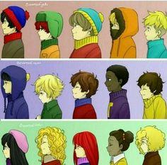 South Park Kids