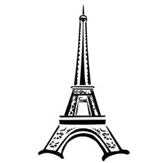 Eiffel Tower unmounted rubber stamp sheet Paris by sweetgrasstamps