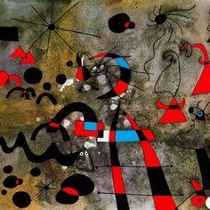La escalera de escape - Joan Miró