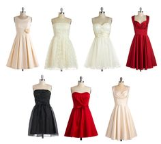 Gorgeous dresses which one would you like to wear