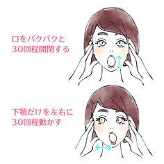 顎の筋肉を緩めるマッサージ0918