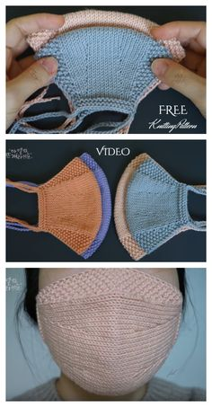 Knit Face Mask Free Knitting Patterns and Paid - Knitting Pattern face . - Knit Face Mask Free Knitting Patterns and Paid – Knitting Pattern face mask for kids pattern free - Knitting Patterns Free, Knit Patterns, Free Knitting, Free Pattern, Finger Knitting, Knitting Machine, Sock Knitting, Vintage Knitting, Knitting Needles