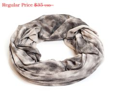 Circle Scarf For Man Or Woman, Taupe Smokey Infinity Scarf, Warm Winter Scarf Unisex Infinity Scarf, Fashion Loop Scarf, Gift For Him Or Her by ShawlNoaVider on Etsy