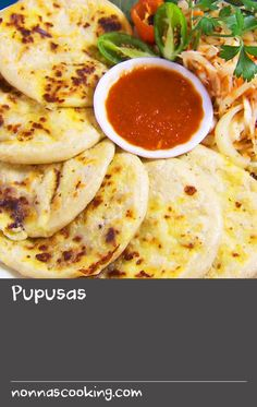 "Pupusas | Pupusas are maize flour pancakes filled with various ingredients. The recipe is from El Salvador where the most popular are with refried beans, pork and cheese. Other versions may use a combination of prawns, zucchini, or spinach and cheese. Lilian Funes de Murga, owner and chef of Los Latinos restaurant in Melbourne, talks us through this recipe of her childhood, which she developed in Australia. ""To me, this ""eat with your hands"" kind of dish screams out for something cold…"