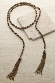 Vintage Tassel Necklace from Soft Surroundings