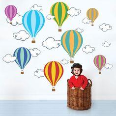 Adesivo de Parede Balões