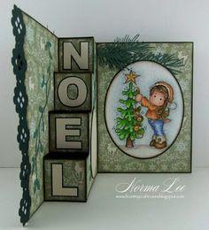 NOEL - 4-Step Card