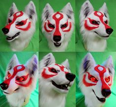 Amaterasu Head - by drakonicknight