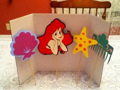 Cute Disney Little Mermaid Centerpiece
