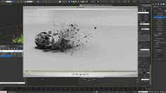Thinking Particles - Ash Decay Tutorial